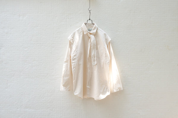 Nepla Classic Hospital Shirt / Women Off White - OKURA