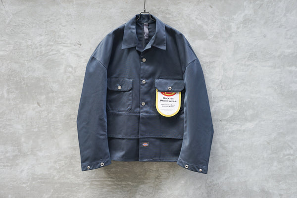 Shinya Kozuka Tacked-In With Dickies Navy