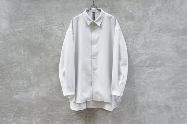 Shinya Kozuka Classic Shirt - Stay Pressed Twill Off White