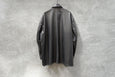 Shinya Kozuka Mac Shirt - Imitated Leather Black
