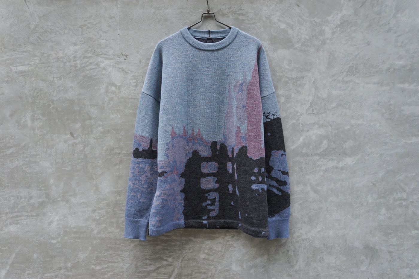 Shinya Kozuka Monet - Fine Merino Wool Blue