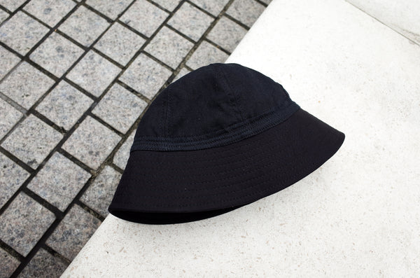 Easy To Wear Hat Linen Canvas Black - OKURA