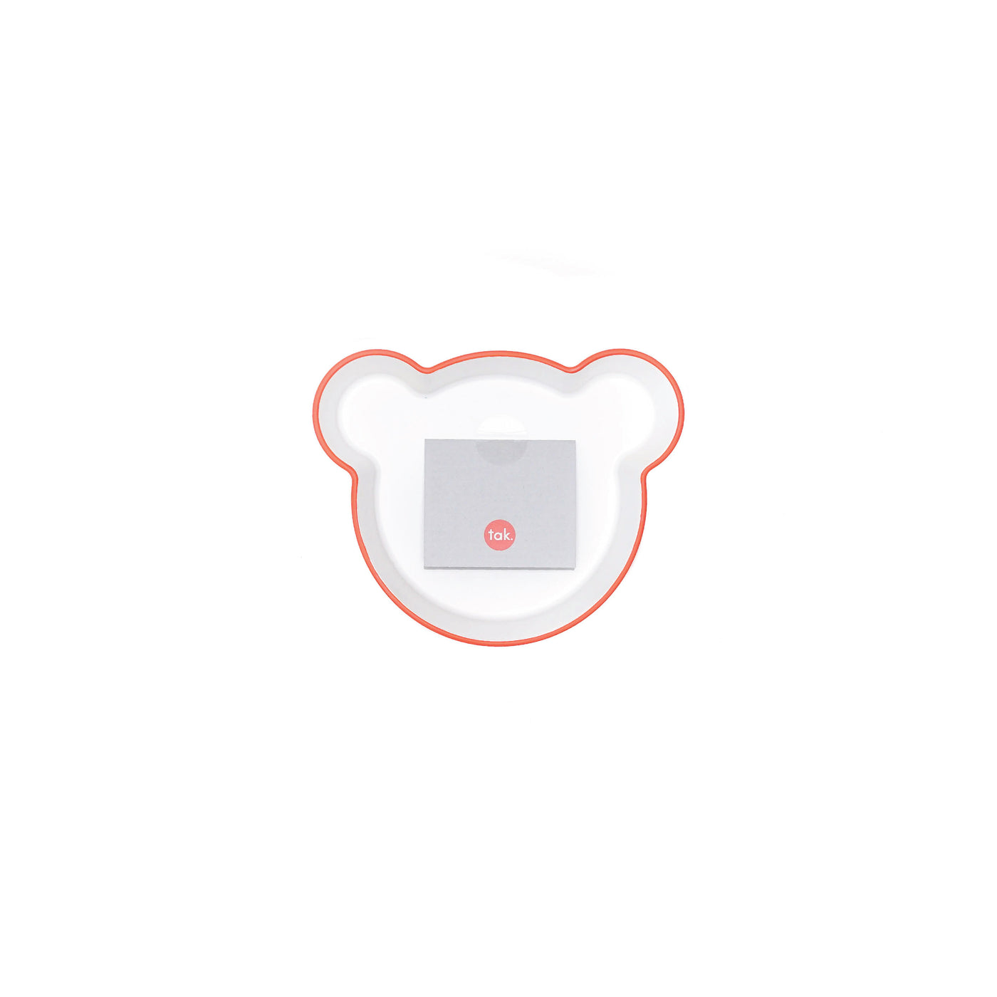H Concept Taks. Kids Dish Bowl Bear M Orange Orange - OKURA