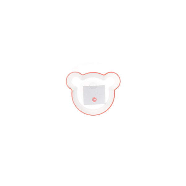 H Concept Taks. Kids Dish Bowl Bear S Orange Orange - OKURA