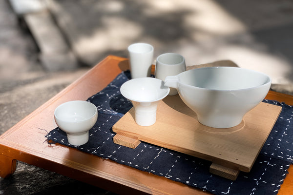 Aito Syuki Sake Set White