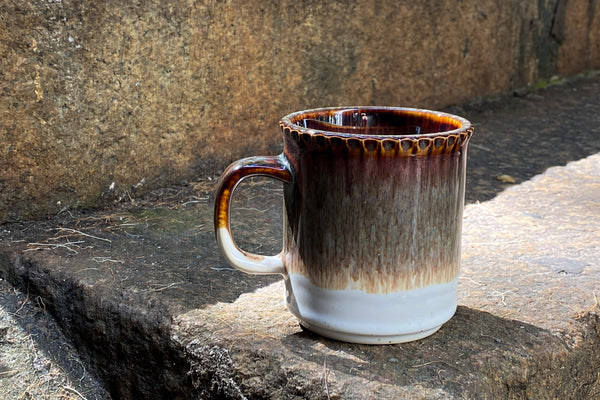 Aito Ridge Mug Brown