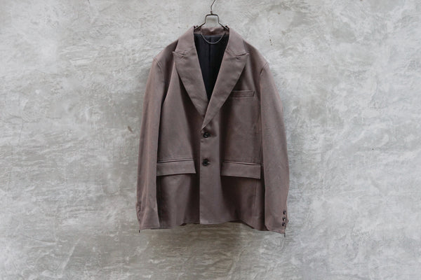 Jieda Tailored Jacket Dark Grey - OKURA