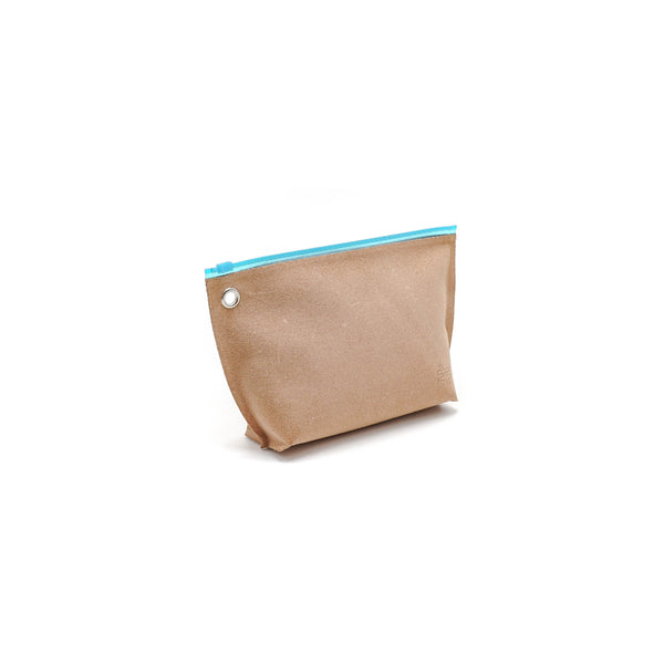 Kiruna Leather Pounch Blue - OKURA