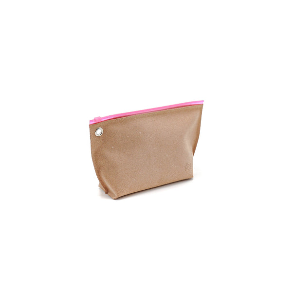 Kiruna Leather Pounch Pink - OKURA