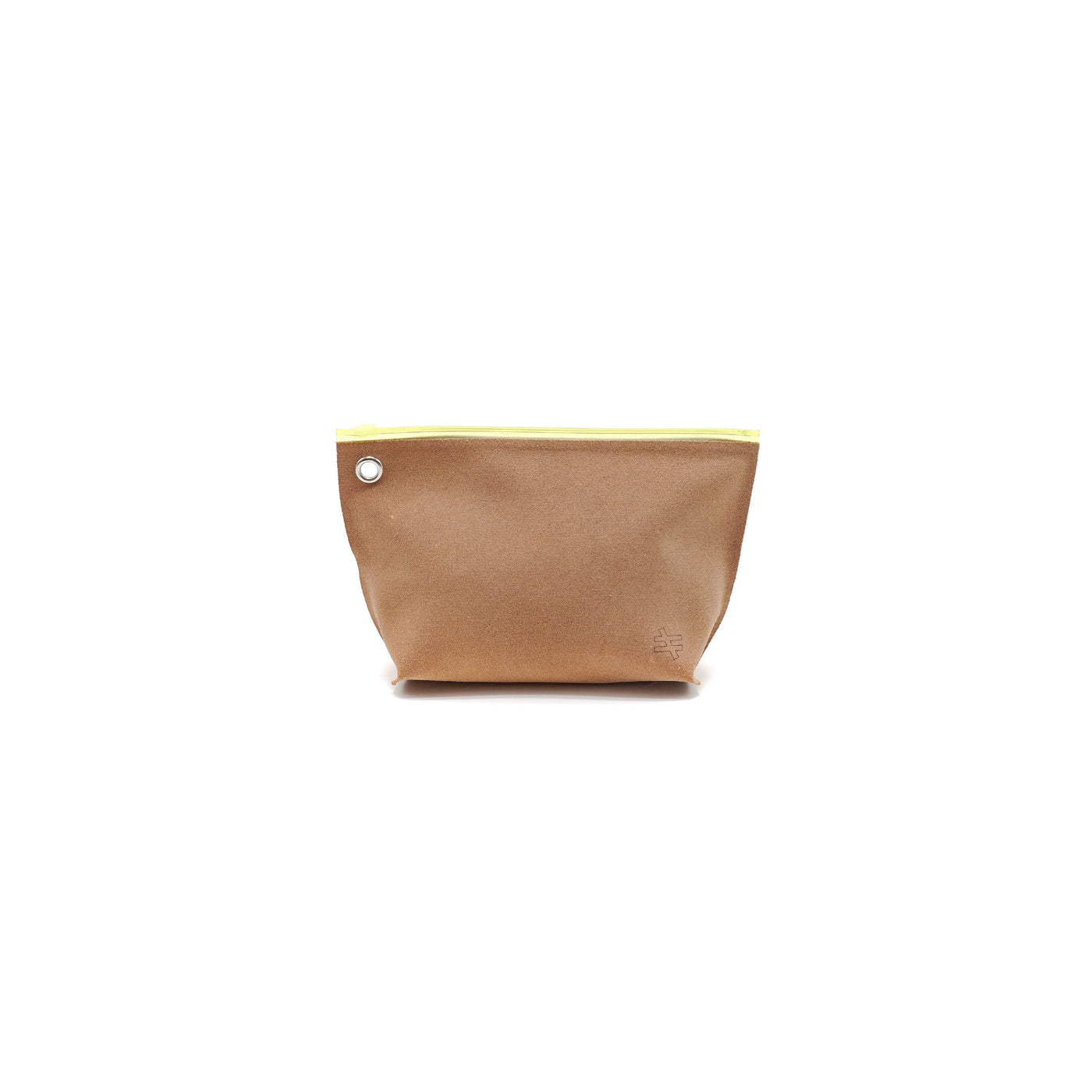 Kiruna Leather Pounch Yellow - OKURA