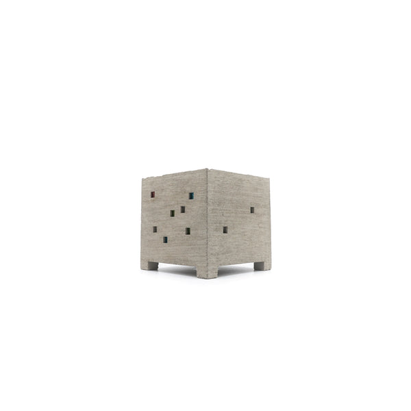Pull + Push Cube Planter Natural - OKURA
