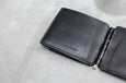 Ed Robert Judson Mini Wallet - Center Clip Black - OKURA