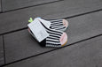 Tricote Kids Checks Stripe Socks Pink - OKURA