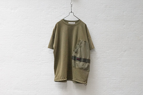 Remi Relief Briefing Tee B Khaki Green - OKURA