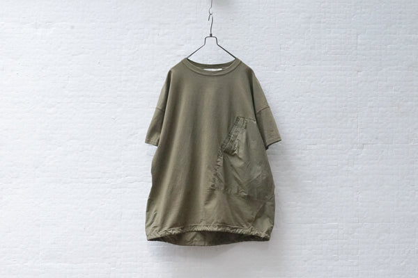 Remi Relief Briefing Tee C Khaki Green - OKURA