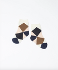 Tricote Argyle Pattern Socks Kids Pink