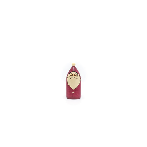 Usaburo Kokeshi No7-2 Tree Santa (M) Red - OKURA