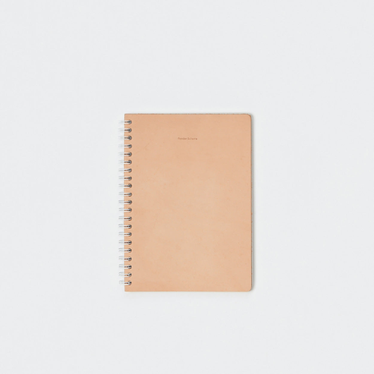 Hender Scheme Removable Ring Note A5 Beige - OKURA