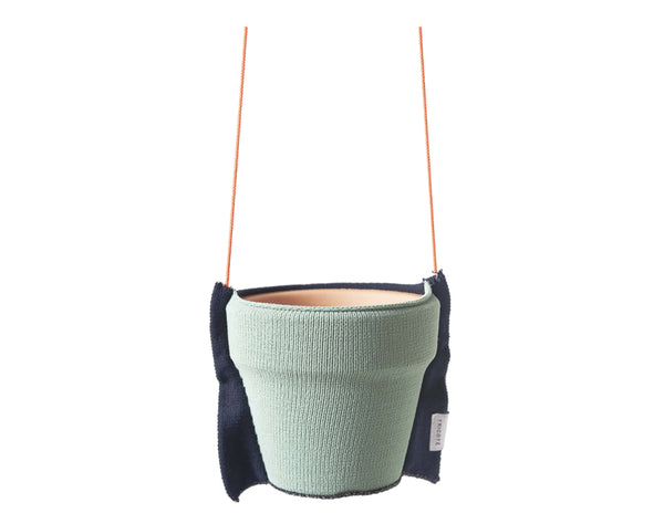 Tricote Hanging Plant Pot Cover S Green