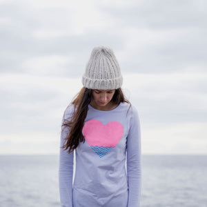Lovbird Heart Long Sleeve