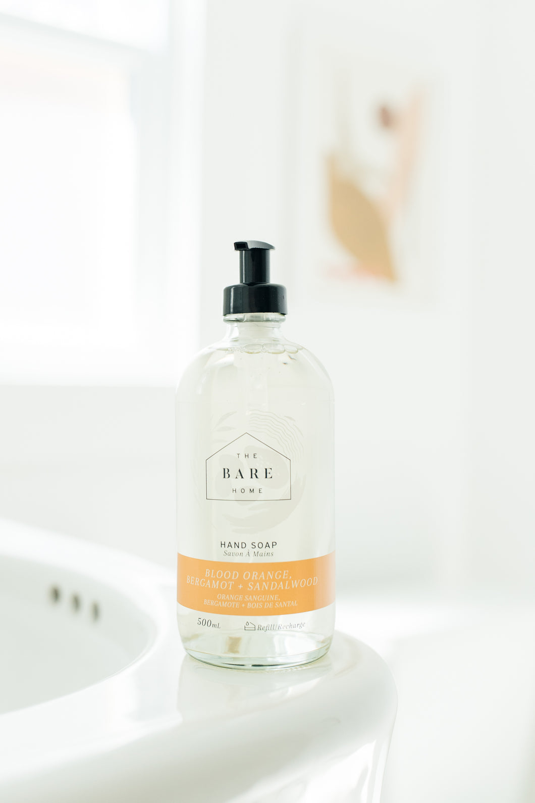 Blood Orange + Bergamot + Sandalwood Hand Soap - The Bare Home