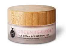 Load image into Gallery viewer, Green Tea + Rose Face Cream - Jusu