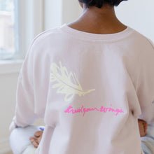 Load image into Gallery viewer, Lovbird Sweatshirt - Free Yourself Design