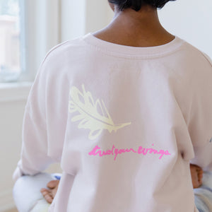 Lovbird Sweatshirt - Free Yourself Design