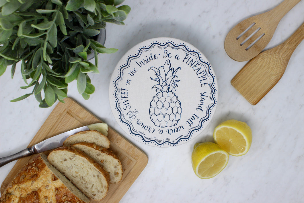 Pineapple Small Bowl Cover
