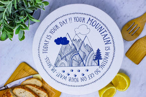 Mountains Large Bowl Cover