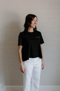 L/L Supply Womens Coolangatta Crop - Black