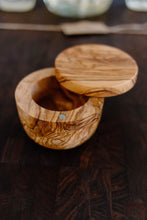 Load image into Gallery viewer, Salt Cellar - Olive Wood