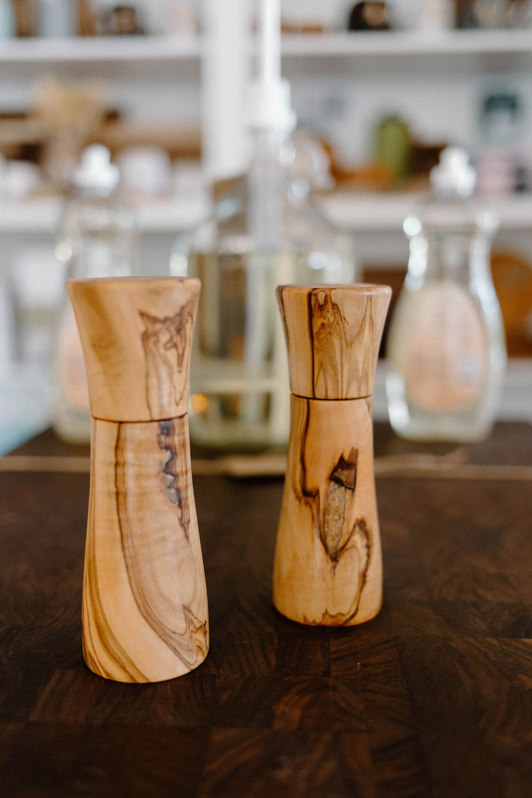 Salt or Pepper Grinder - Olive Wood