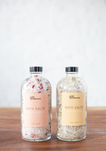 Gold Apothecary Bath Salts 16oz