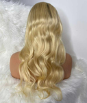 Lace Wig Body Wave with Human Hair