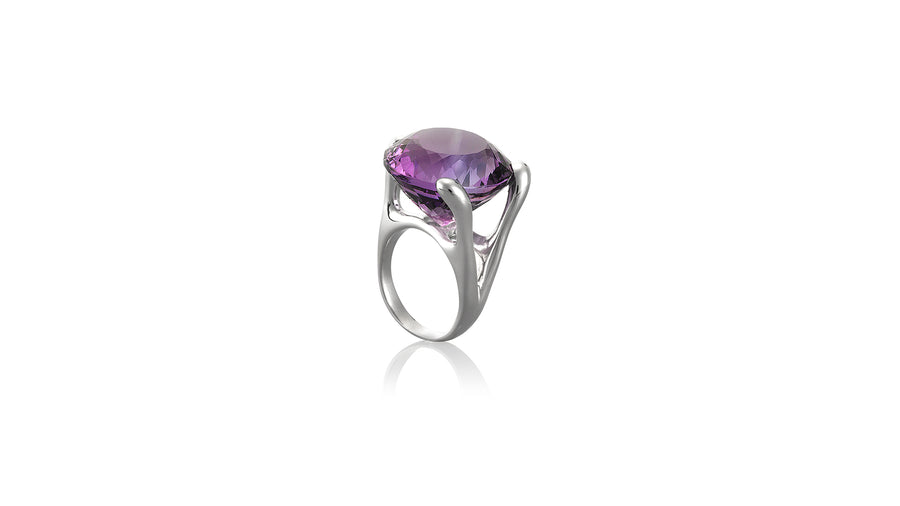 Purple Gemstone
