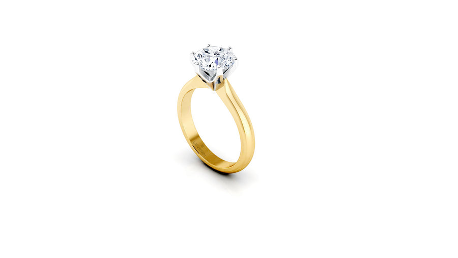 CLASSIC LEVENDI - 6 CLAW - 18CT YELLOW GOLD
