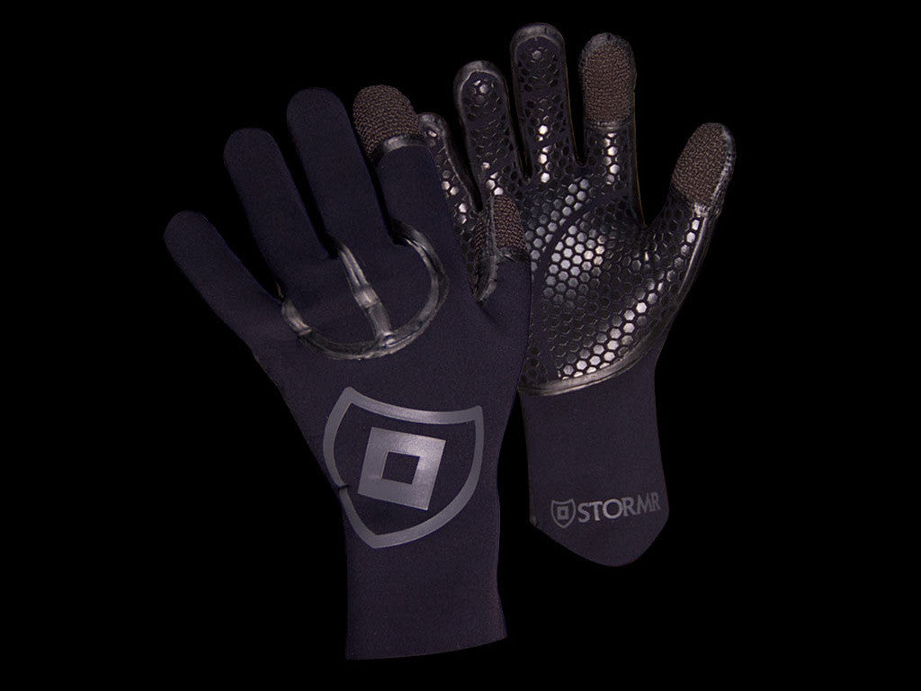 Mens Cast Neoprene Gloves by Stormr