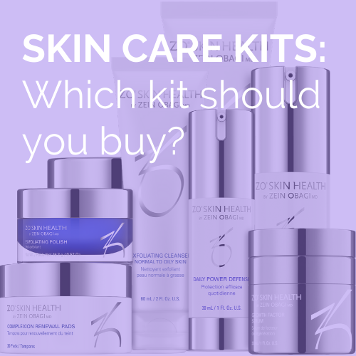 The best skincare kits to use at home