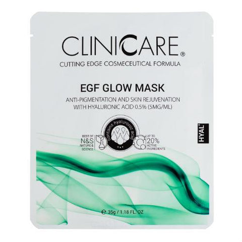 EGF Clinicare Glow Mask - The Virtual Aesthetic Clinic