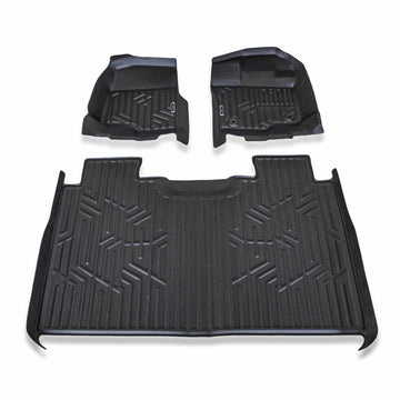Ford F-150 Floor Liners - Crew Cab