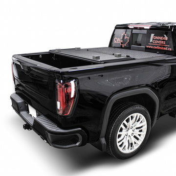 Toyota Tacoma Low Profile Hard Trifold Tonneau Cover