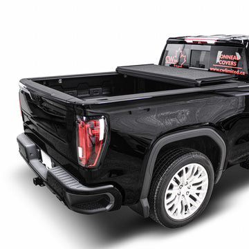 GMC Sierra 1500 Low Profile Hard Trifold Tonneau Cover