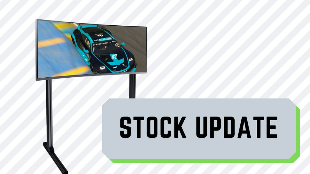 Update on Monitor Stand availability (now arriving Weds 14th October)