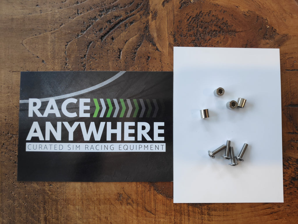 Monitor vesa mount bolts and spacers kit