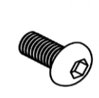 M8 buttonhead bolts (Pack of 10)