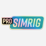 PRO SIMRIG holographic sticker