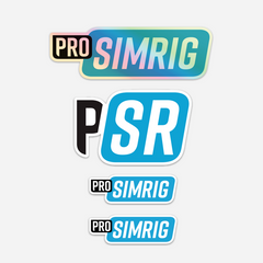 PRO SIMRIG sticker bundle