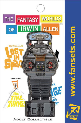 "B-9 Robot Collectible Pin from Irwin Allen's ""Lost in Space"""