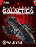 Battlestar Valkyrie Ship with Collector Magazine (Battlestar Galactica)